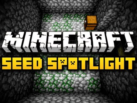 Minecraft Seed Spotlight #10 - SURFACE DUNGEON! (HD)