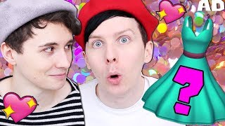 Can Dan and Phil Dress Anime Girls?