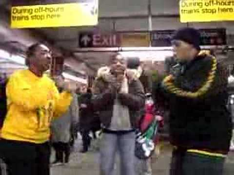 New Generation singers-NYC subway