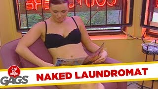 Laundry Service Clients Get Naked - Throwback Thursday