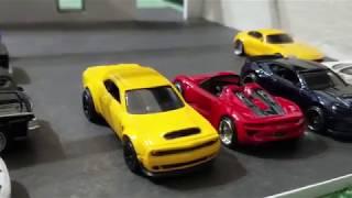Hot Wheels custom Porsche 918 Spyder and Dodge Demon