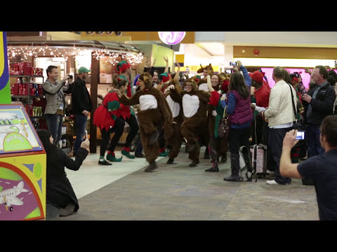 WestJet Christmas Flash Mob