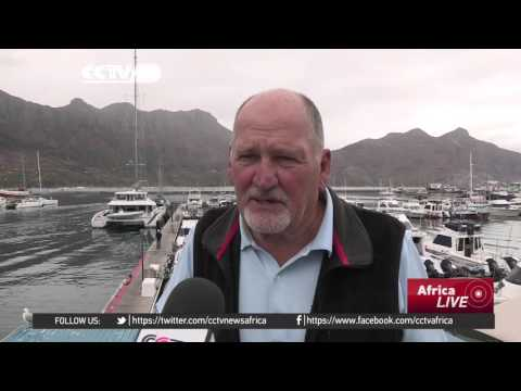Cape Town's tourist harbor now shipwreck graveyard