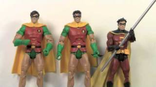 DC Universe Classics Robin & Variant from Bane Wave 16 Interactive Action Figure Toy Review
