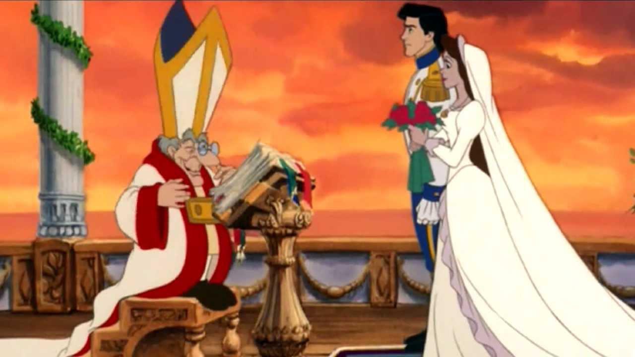 Disney Prinzessin-Hochzeit