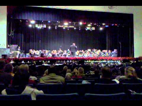Manchester High School Band Holiday Concert 2010- Christmas Medley