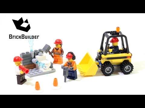 Lego City 60072 Demolition Starter Set - Lego Speed Build
