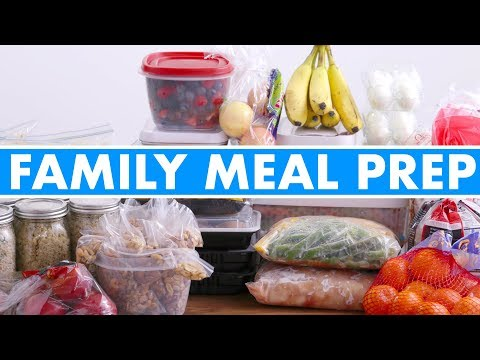 Healthy Family Meal Prep for the Week! - Mind Over Munch