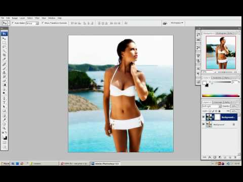 Bigbad.ru - Урок Фотошоп - Как сделать загар на пляжном фото