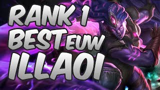 Season 8 rank one illaoi player - Best plays | Hightlights