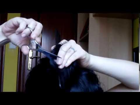 Como cortar el cabello a capas