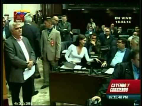 Vea la actitud de la oposición cuando la Asamblea Nacional crea Comisión de la Verdad