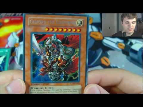 Best Yugioh 2005 Gilford The Lightning Tin Opening Ever!