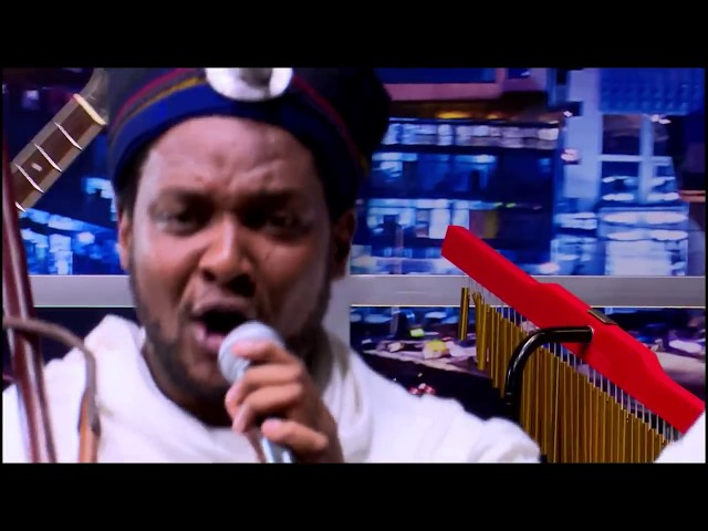 Seifu on EBS -  Singer Abush Zeleke Live Performance On Seifu Show