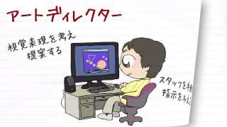 職業紹介【アートディレクター篇】~将来の仕事選びに役立つ動画