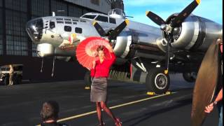 Warbird Pinup Girls 2016 behind the scenes
