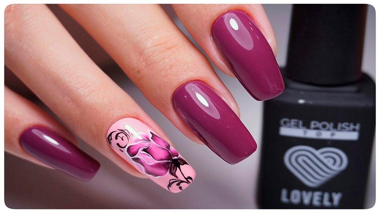 У i дизайн гелевых ногтей 2017