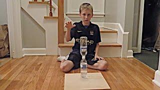 Water Bottle Flip Trick Shots 2  Thats Amazing