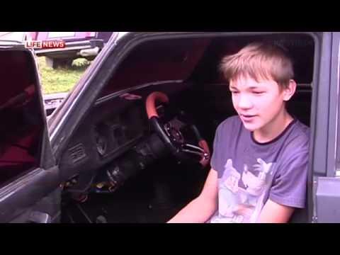 Гоночный автомобиль собрал школьник своими руками