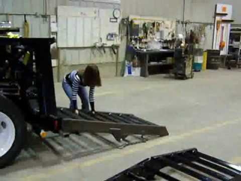 New Trailtech Ct220tt Spring Assisted Ramp Youtube