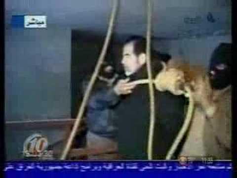Saddam Hussein Hanging