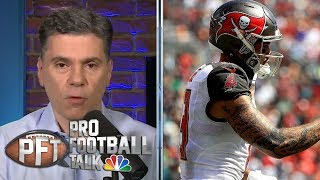 Pick One: Julio Jones, Michael Thomas or Mike Evans | Pro Football Talk | NBC Sports