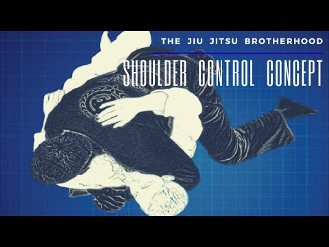 Brazilian Jiu Jitsu: Side-Mount Shoulder Control | Jiu-Jitsu Brotherhood Image 1