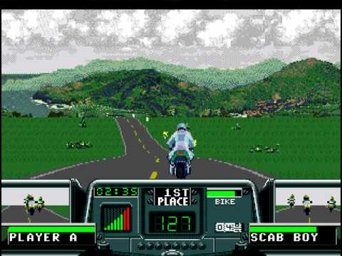 Road Rash 3 - Road Rash 3 Level 1 - User video