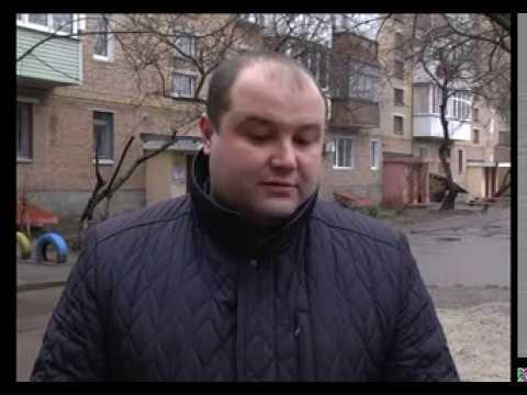 Звітує свободівець Ігор Дубровський, депутат Прилуцької міськради