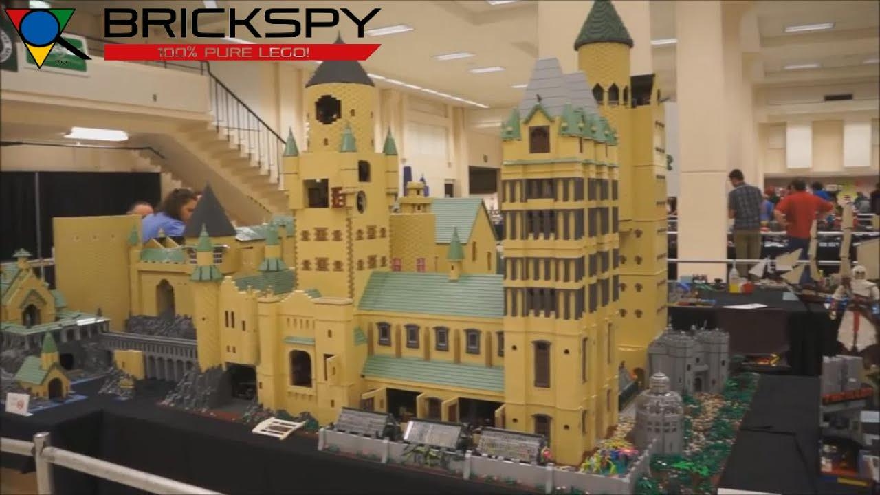 Lego Hogwarts Castle Moc Brickcon2012 Youtube