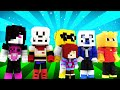 FNAF World - BABY UNDERTALE! (Minecraft Roleplay) Night 17
