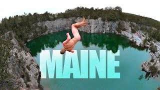 74ft NAKED TRIPLE | 48 Hours in Maine