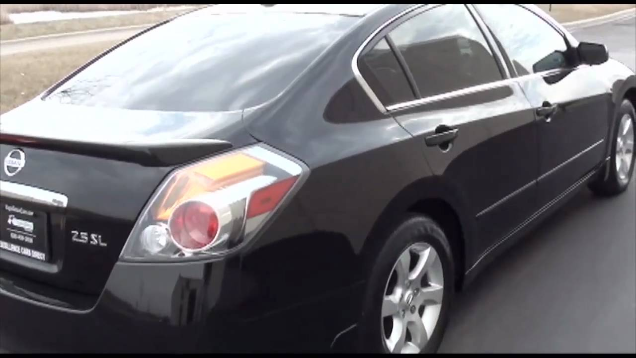 2008 Nissan Altima 2 5 Sl Bose Spoiler Excellence Cars