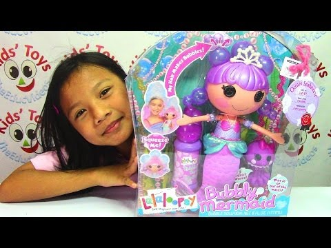 Lalaloopsy Bubbly Mermaid Doll Ocean Seabreeze And Pet video