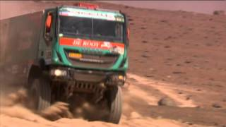 FOR IVECO, SAFETY ALWAYS COMES FIRST. Dakar 2015 - Stage 9