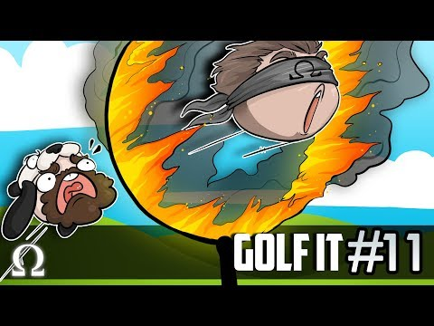 THE BEST GOLF IT MAP EVER MADE!? | Golf It Funny Moments #11 Ft. Jiggly, Stabbies, Satt
