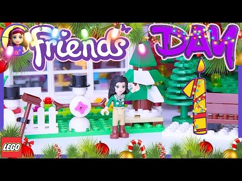Lego Friends Day 1 Advent Calendar 24 in 1 Holiday Countdown 2016 Build Review - Kids Toys