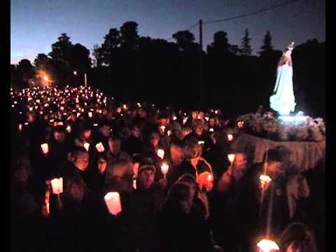 PROCESION DE VELAS EN FATIMA
