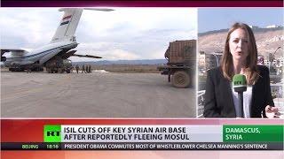 Fiercest ISIS offensive: Islamists cut off Syrian Deir ez-Zor airbase