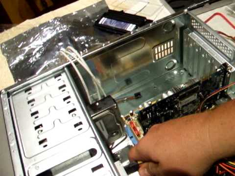 How to build a PC part 9 Wiring it all together