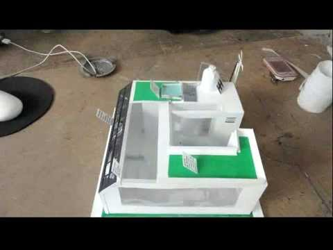 Casa ecol gica maqueta youtube - Como hacer una maqueta de una casa ...