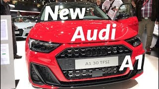 New Audi A1 S-Line 2019 first look in 4K - Paris Auto Show