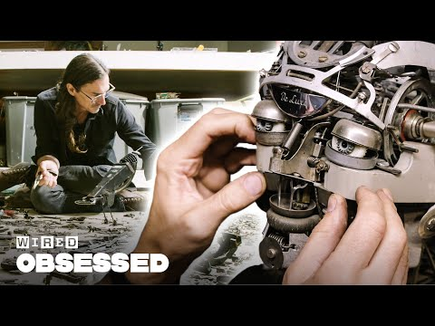 download song How This Guy Makes Sculptures Out of Old Typewriters | Obsessed | WIRED free