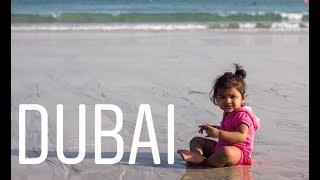 D U B A I - Burj Al Arab , with a 1year old.