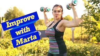 Reduction arms in front of - Improve with Marta