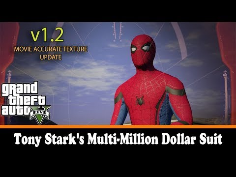 Tony Stark Multi-Million Dollar Suit