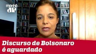 Discurso de Bolsonaro em Davos é aguardado com expectativa alta   Vera Magalhães