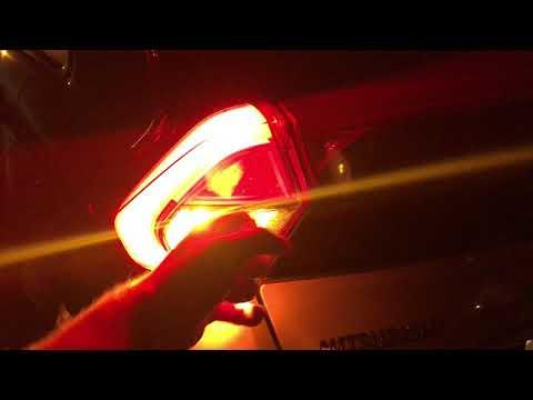 Ночной обзор Mitsubishi Eclipse Cross - без бутафории не обошлось.