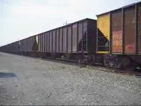 Norfolk Southern 540 - Conrail SD60I FULL THROTTLE (Part 2)