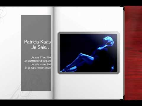 Patricia Kaas - Je Sais